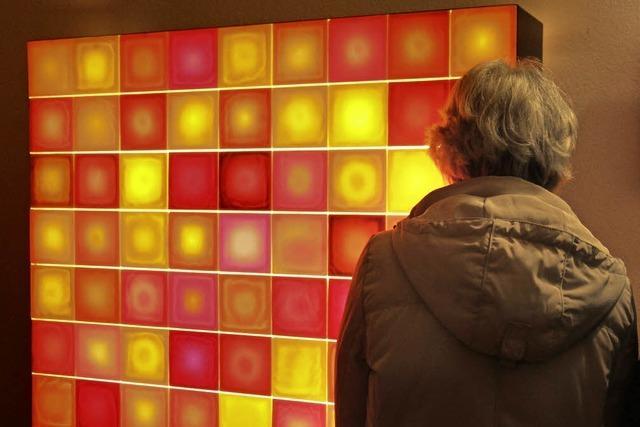 Kunst und Design aus und mit Licht