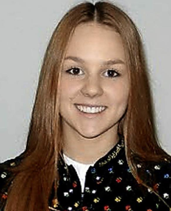 Jugendwartin Elisa Stiegeler ist jetzt auch Vizedirigentin.  | Foto: zvg