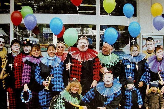 Die Clowns dudeln seit 1990