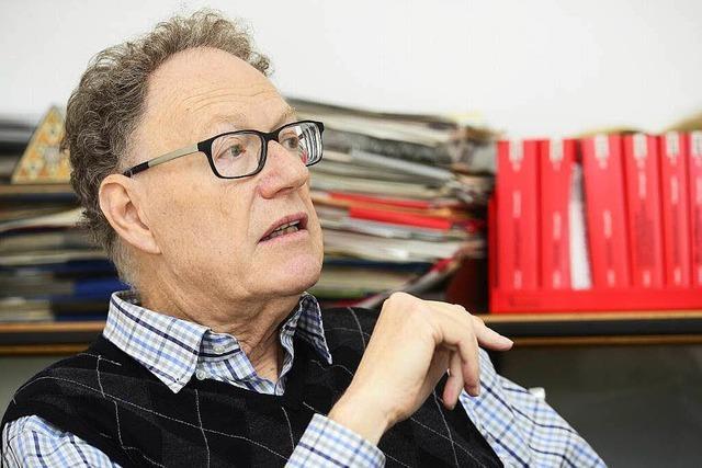 Michael Moos wurde jahrzehntelang vom Verfassungsschutz beobachtet