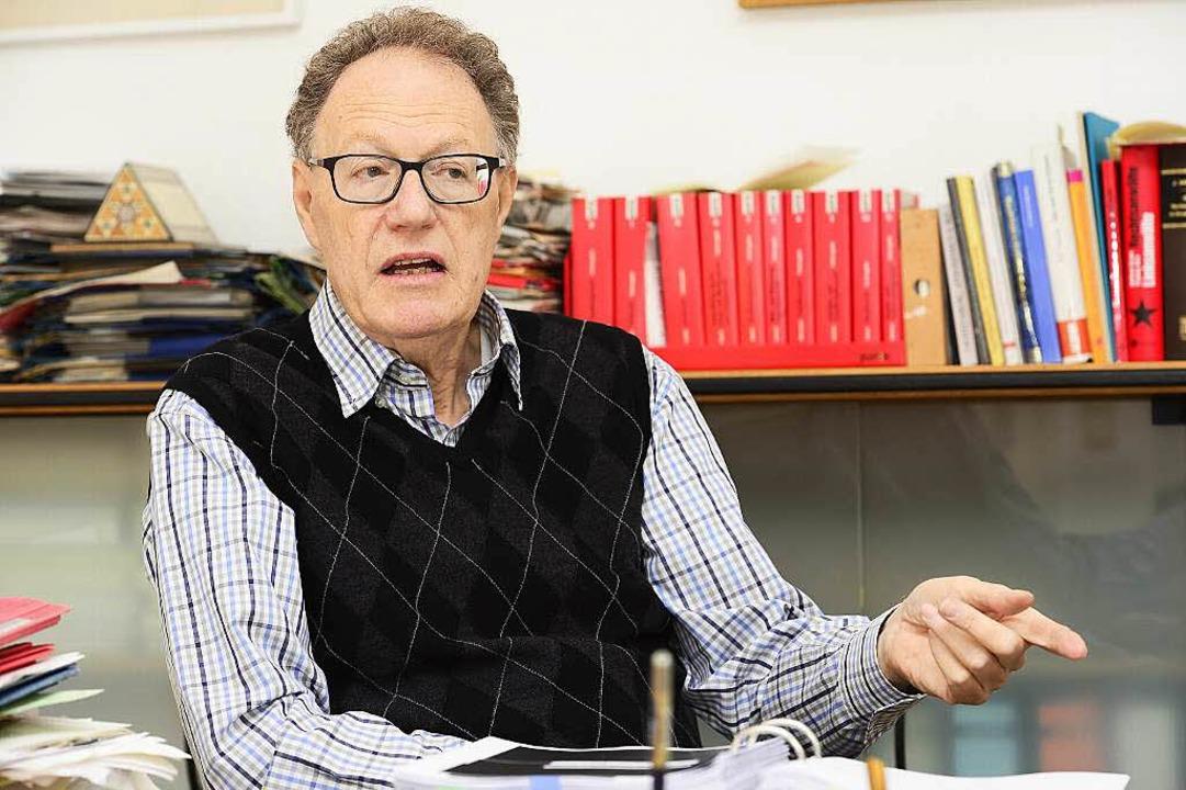 Michael Moos wurde zumindest von 1978 bis 2013 vom Verfassungsschutz beobachtet.  | Foto: Ingo Schneider