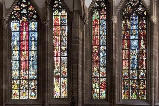 Künstlerin gestaltet Fenster im Straßburger Münster neu