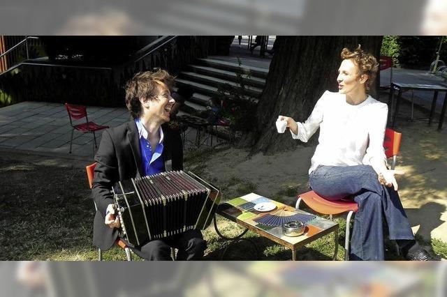 Das Duo Nektar Subtil gastiert in Riegel