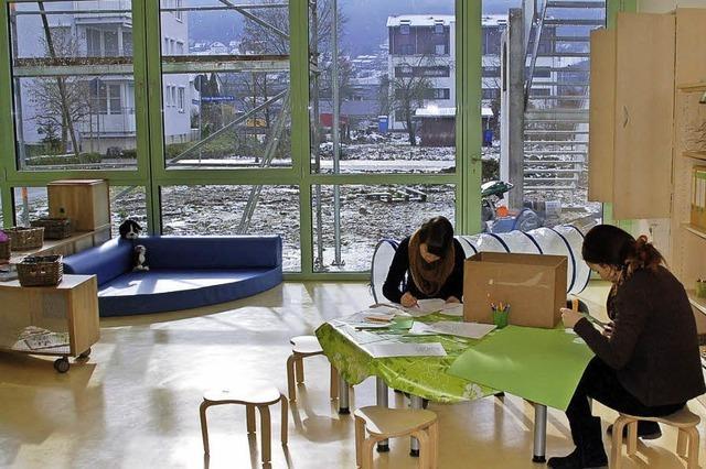 Ein Haus für Kinder entsteht im Sauseschritt