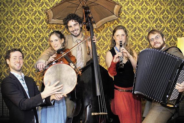 Yankeles Klezmer Band spielt in Lörrach