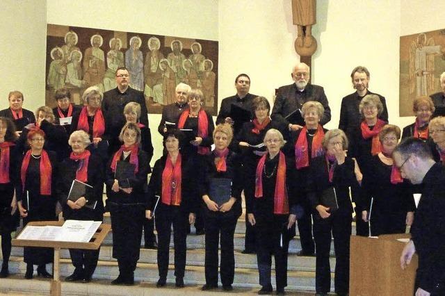 Kammerchor singt in Rheinfelden