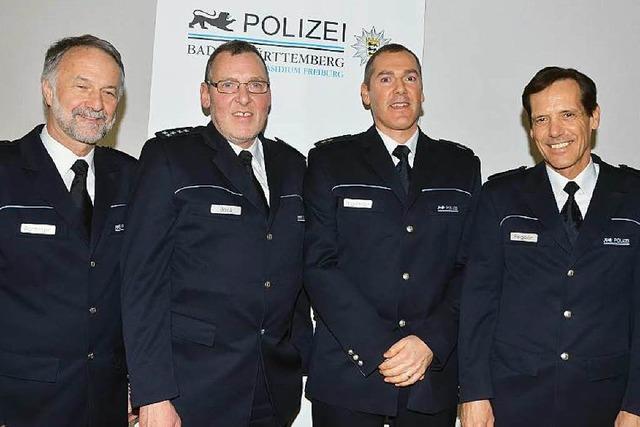 Thomas Hagnberger übernimmt von Berthold Bock die Leitung des Polizeireviers