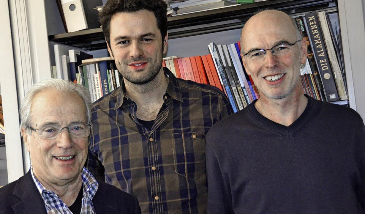 Hartmut Schäfer (rechts) und Otmar Don..., Geschäftsführer des Kulturzentrums.     Foto: Sabine Ehrentreich