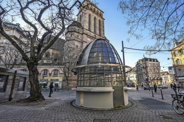 Straßburg will die Institution Kiosk erhalten