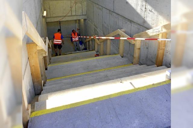 Kiefer will Schiene an der Treppe durchsetzen