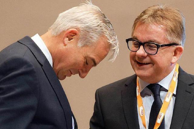 Wolf begräbt seine Ambitionen auf CDU-Landesvorsitz