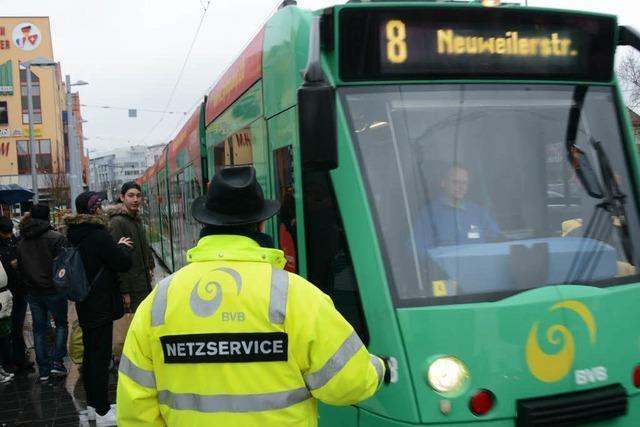Tramverkehr in Weil mit Anlaufschwierigkeiten