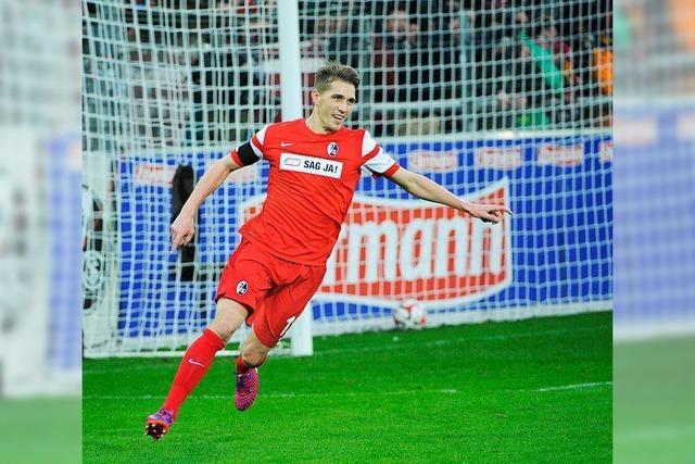 SC Freiburg landet dank Nils Petersen Befreiungsschlag und siegt mit 4:1