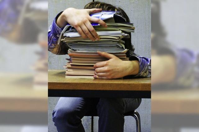 Jeder dritte Schüler leidet an Stress