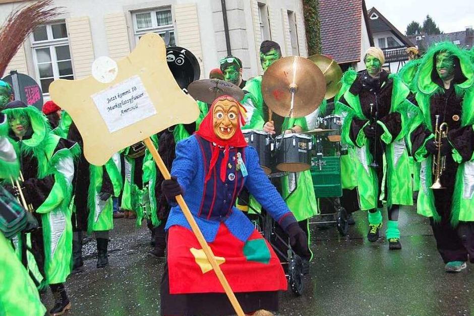 Umzug beim Hexenwochenende in Gundelfingen (Foto: Andrea Steinhart)