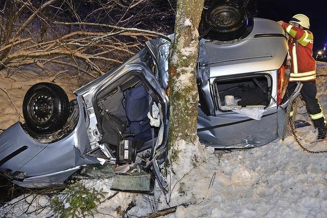 Bei Unfall schwer verletzt