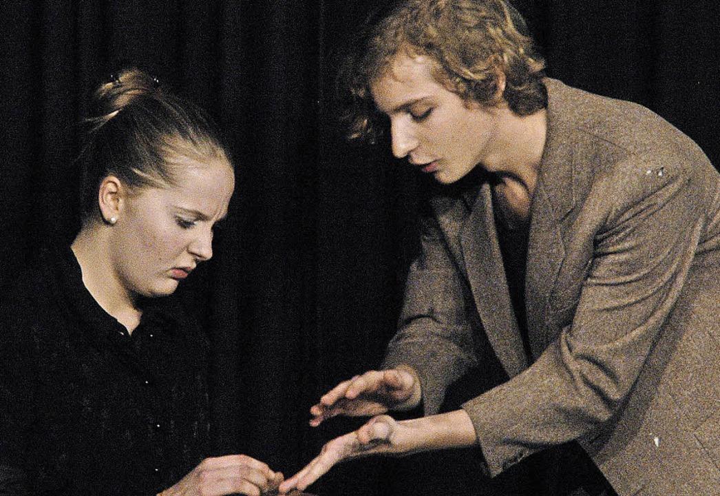 Lisa Schill und Yannick Rietsch führte...onkurrenz auf  Beziehungen auswirken.   | Foto: Mariel Wendel
