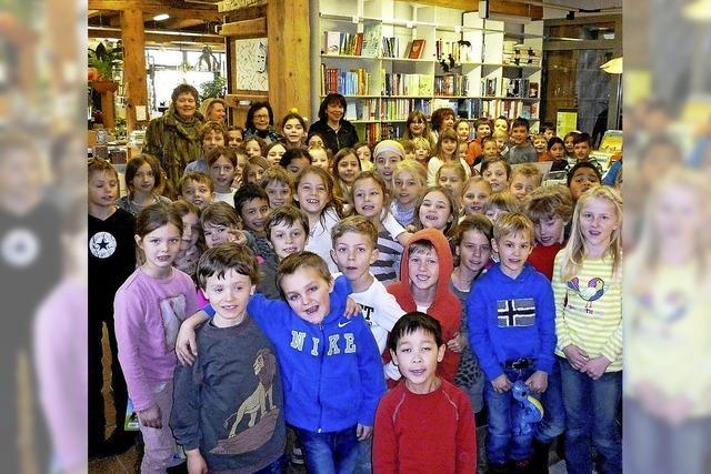 85 Grundschüler aus Burg im Lesefieber