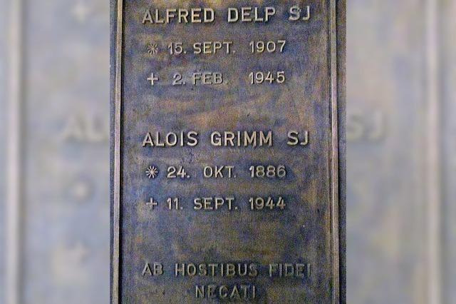 Widerstand aus dem Glauben heraus: Gedenken an Alfred Delp