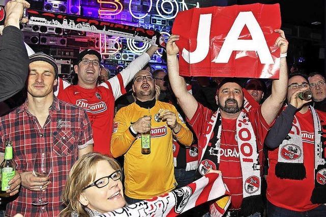 Freiburg sagt Ja zum neuen Fußballstadion