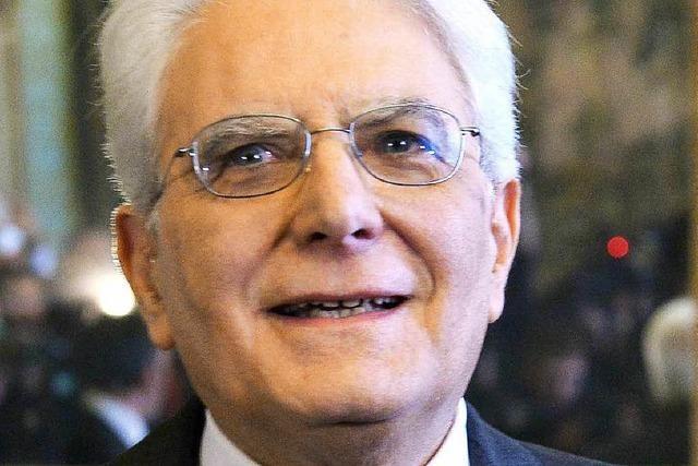 Sergio Mattarella: Ein Kämpfer gegen die Mafia wird Präsident
