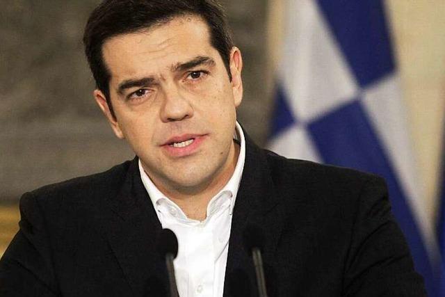 Alexis Tsipras mäßigt seinen Ton