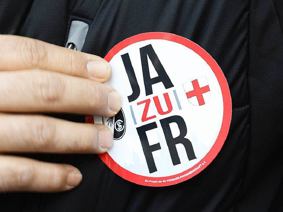 In 47 von 49 Freiburger Stadtbezirken ...  die Stadionbefürworter die Nase vorn  | Foto: Ingo Schneider