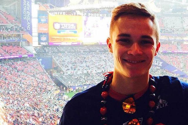 So erlebte ein Freiburger Nachwuchs-Footballer den Superbowl