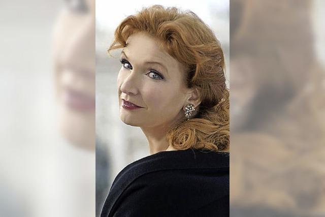 Die Sopranistin Anne Schwanewilms in Straßburg