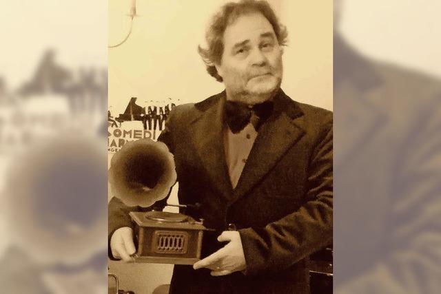 Martin Schreibers Grammophon-Abend in Endingen