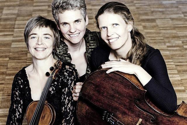 Das Trio Vivente spielt in Denzlingen