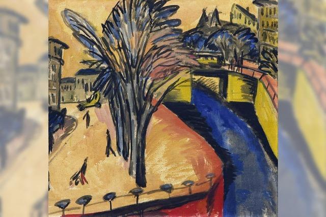 Ernst Ludwig Kirchner in Mannheim