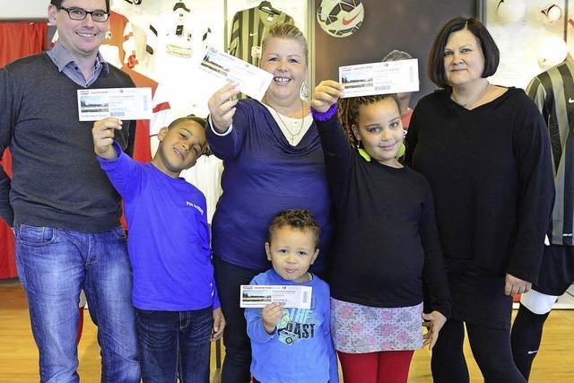 SC-Freikarten für Familien