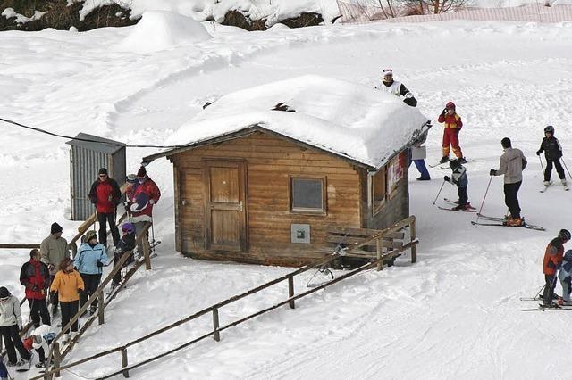 Skifest für Kinder am Skilift Rothaus in Grafenhausen