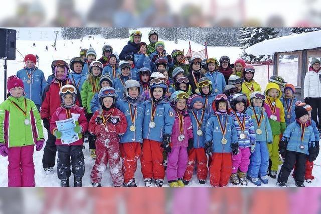 Viel Spaß für Kinder beim Bernauer Skifest