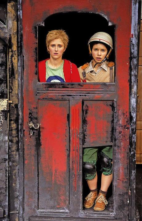 Marie Jordan (links)  und Lisa Marie Stoiber    | Foto: Rainer Muranyi