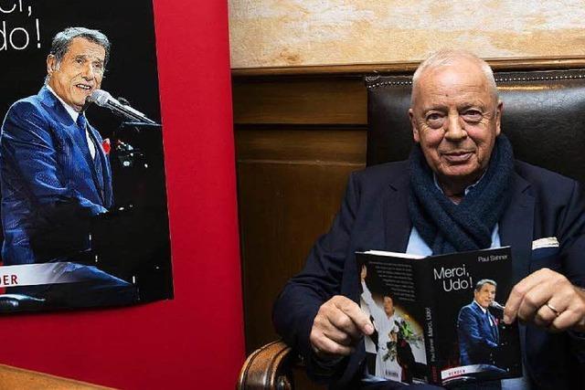 Promireporter Sahner stellt Udo-Jürgens-Biografie vor