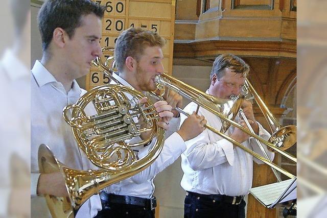 Ensemble Querblechein in Bad Säckingen