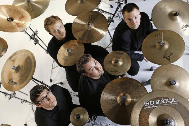 Elbtonal Percussion-Ensemble in der Reithalle Offenburg