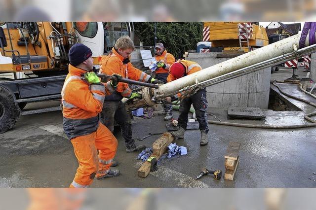 Pumpe soll Abwasser effektiver wegschaffen
