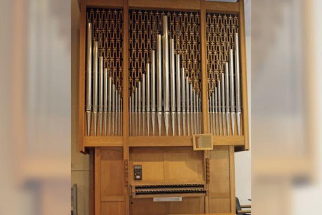 Eine Orgel, die den Raum nicht füllt