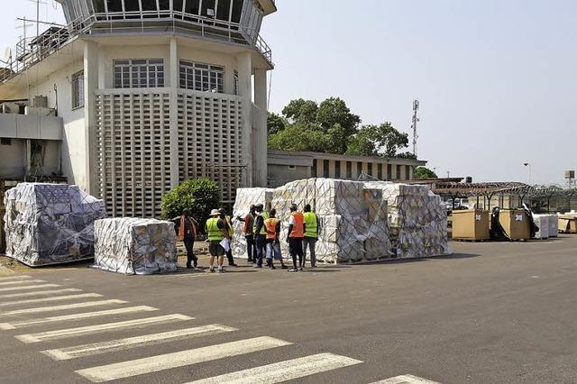 Meiko-Spende gegen Ebola