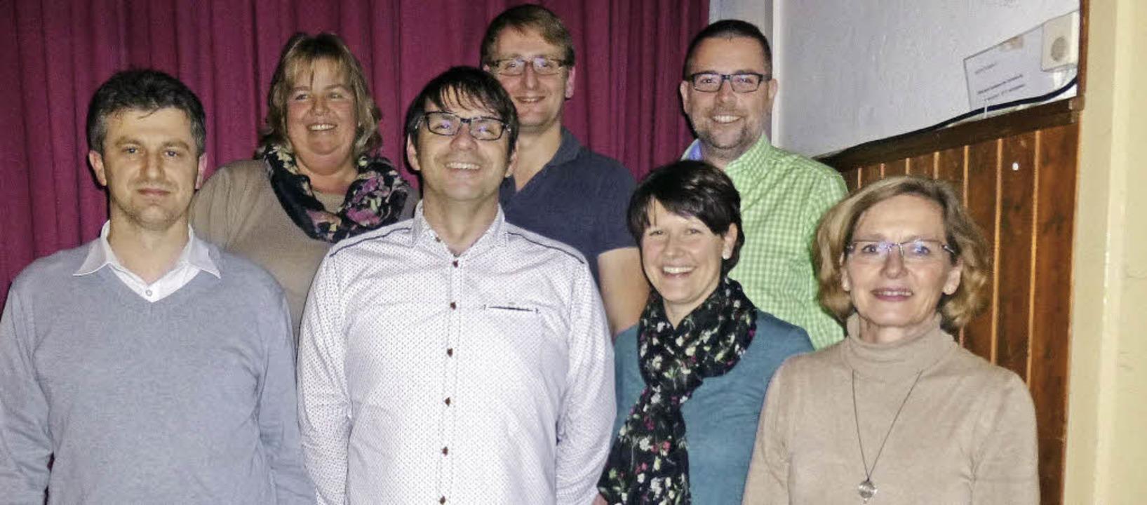 Das neue Vorstandsteam des TV Hägelber...n Ott und Daniela Ganter (von links).   | Foto: Poppen