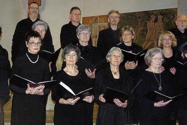 Kammerchor und Solisten bereiten ein Hörerlebnis