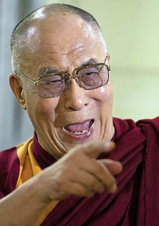 Umstritten: der Dalai Lama   | Foto: dpa
