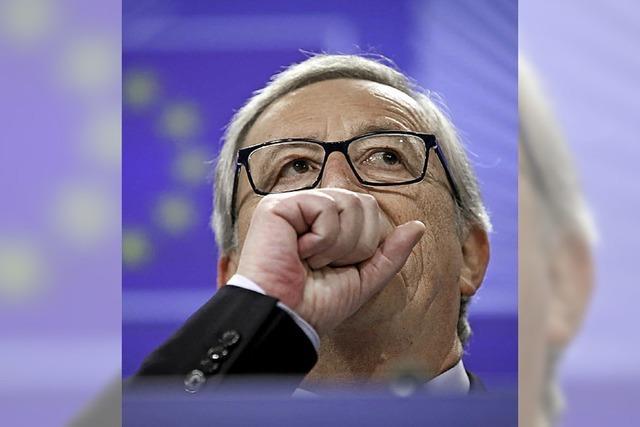 Junckers Skandal wird zum Problem für die EU