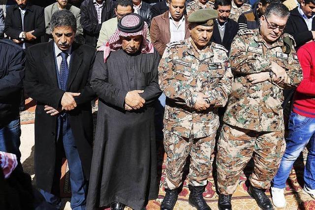 Nach barbarischer Hinrichtung: Jordanien will Rache