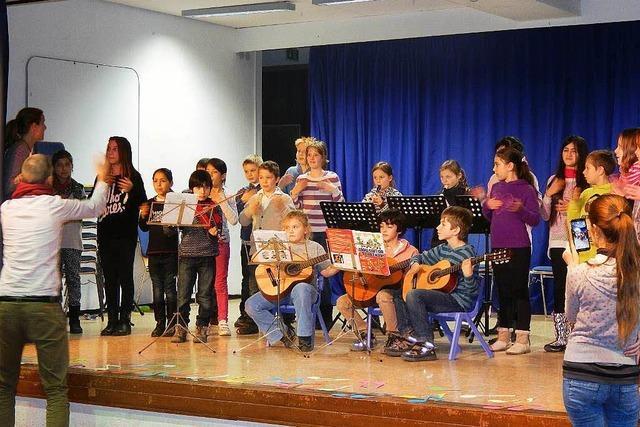 Erstes Konzert der Musikschüler der Kastelbergschule