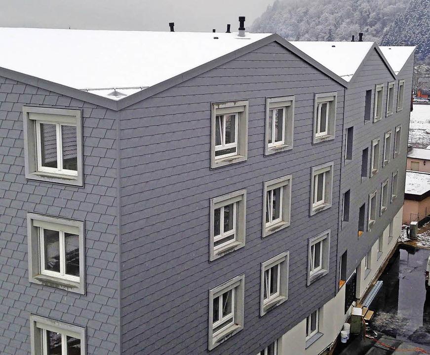Eines der neuen Wohngebäude des ersten Bauabschnitts  | Foto: Nikolaus Bayer
