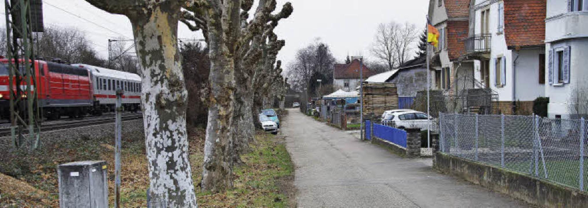 Die Lärmsanierung an der Bahnstrecke i...itigen Vorstellungen erhalten bleiben.  | Foto: Ilona Hüge